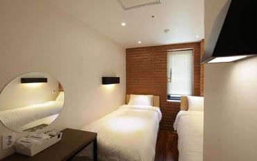 首尔酒店公寓住宿:卡萨明洞旅馆标准双床房