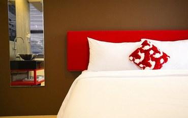 曼谷酒店公寓住宿:曼谷西隆鲁比德酒店双人间 - 带私人浴室
