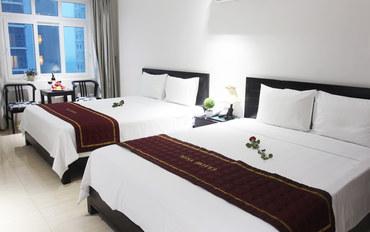岘港酒店公寓住宿:米萨酒店海景家庭房