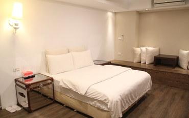 台北酒店公寓住宿:台北Muses2旅馆豪华大床房