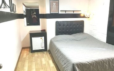 韩国酒店公寓住宿:OPPA民宿大床房