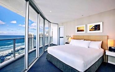 黄金海岸酒店公寓住宿:冲浪者天堂五星级豪华酒店式公寓2卧室豪华