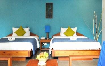 暹粒酒店公寓住宿:桑切斯莫伊套房Spa酒店豪华双床房