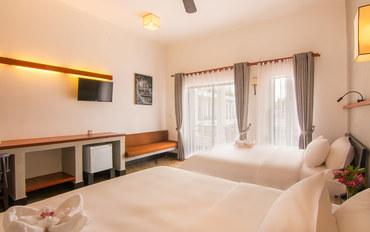 暹粒酒店公寓住宿:暹粒奥布拉吴哥酒店豪华双床房