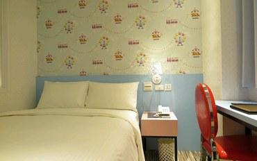 桃园酒店公寓住宿:E91旅店 桃园馆标准有窗大床房