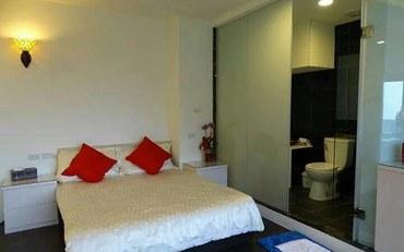 新北酒店公寓住宿:九份轻便露民宿3F两人山海景观