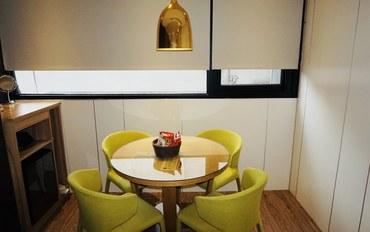 台北酒店公寓住宿:旅乐序二馆经典双人房