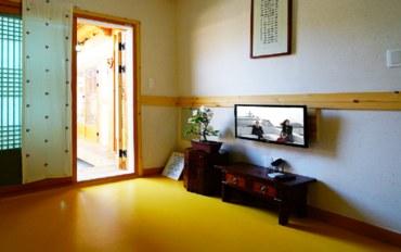 全州酒店公寓住宿:传统韩屋体验民宿 幸福2人房