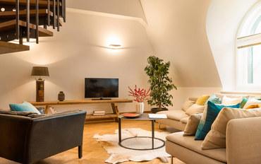 布拉格酒店公寓住宿:美感之旅:波西米亚全景复式