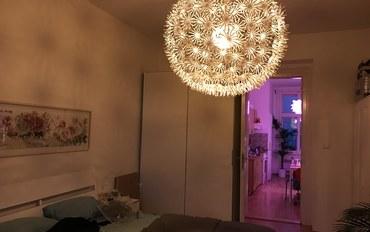 布拉格酒店公寓住宿:krymska酒吧咖啡街简约整套公寓