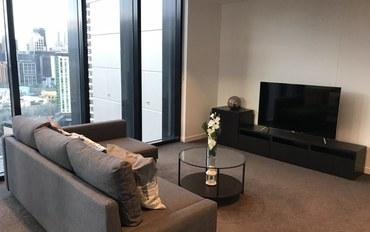 墨尔本酒店公寓住宿:澳洲墨尔本赌场海景雅拉河风景铂金公寓