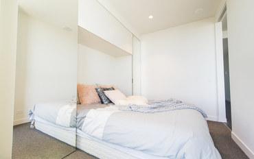 墨尔本酒店公寓住宿:高层舒适公寓绝佳景观
