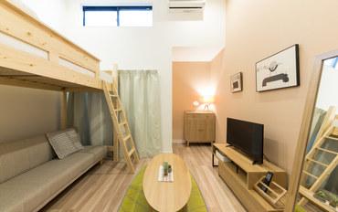 福冈酒店公寓住宿:TATERU bnb 高砂B 旅社201