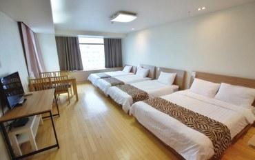 仁川酒店公寓住宿:仁川机场旅馆 家庭房