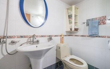 仁川酒店公寓住宿:位于江华岛的1卧室-56.2平方米|带1