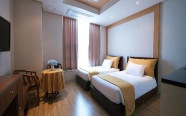仁川酒店公寓住宿:永宗仁川机场酒店 标准房(双床)