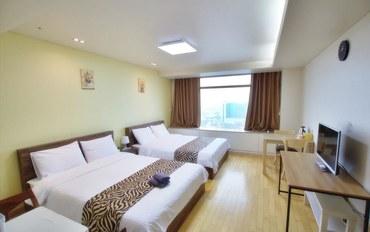 仁川酒店公寓住宿:仁川机场旅馆 客房(双床)