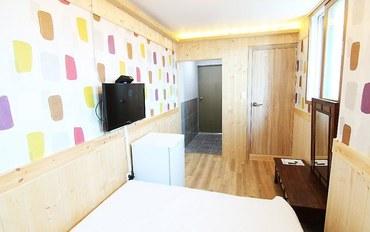 全州酒店公寓住宿:位于中央洞的套间(23.14平方米)-带