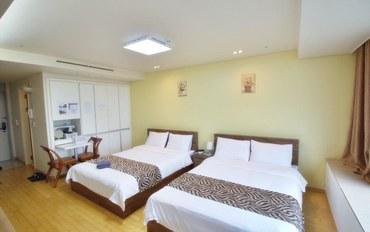 仁川酒店公寓住宿:仁川机场旅馆 套房(双床)