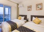 重庆南岸区重庆斯维登南坪翡翠明珠温馨双床房                         (共96套)