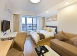 重庆南岸区重庆斯维登南坪翡翠明珠温馨大床房                         (共64套)