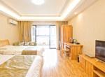桂林七星区桂林斯维登高新万达高级双床房                         (共6套)